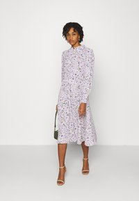 ONLY - ONLTAMARA LONG FLOWER DRESS - Denní šaty - white - 1