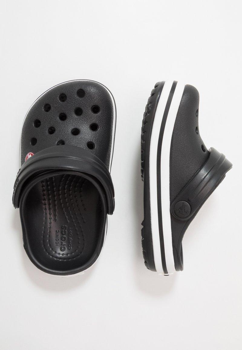 Crocs - CROCBAND - Sandały kąpielowe - black