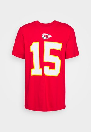 NFL KANSAS CITY CHIEFS PLAYER ESSENTIAL  - Pelipaita - university red