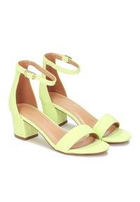 Kazar - MAKIRA - Ankle cuff sandals - pistachio - 1
