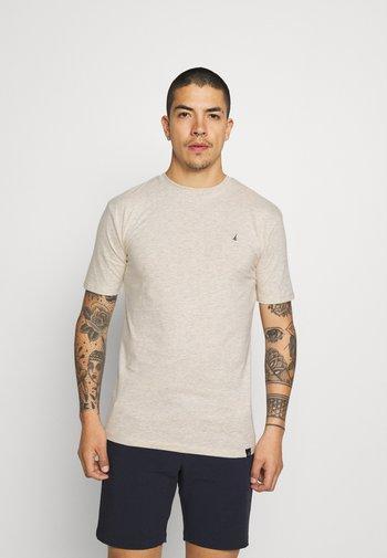 CHEST 2 PACK - Basic T-shirt - off white/blue marl