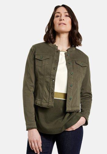 Denim jacket - olive