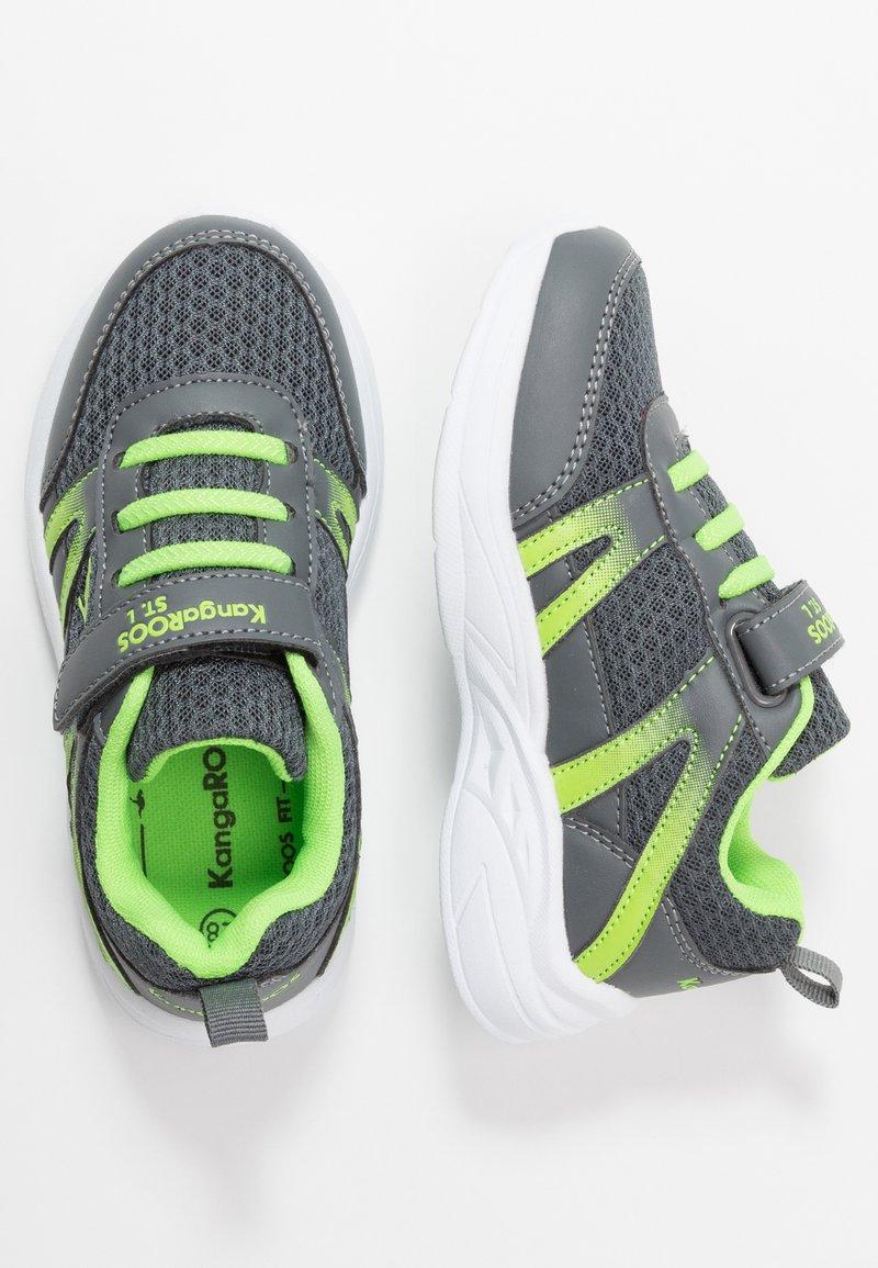 KangaROOS - INKO  - Sneakers - steel grey/lime