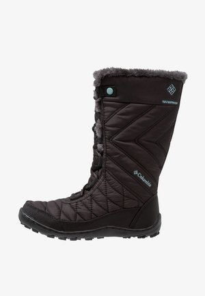 YOUTH MINX MID III WP OMNI-HEAT - Winter boots - black/iceberg