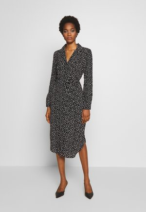 PCNICOLETTA DRESS - Shirt dress - black