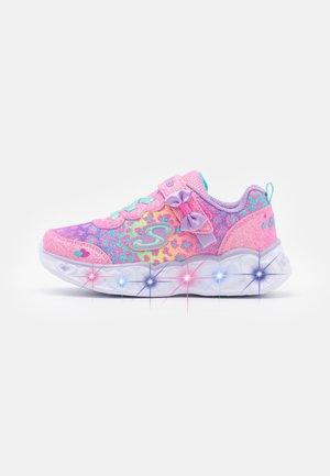 HEART LIGHTS - Sneakers basse - hot pink /lavender/aqua