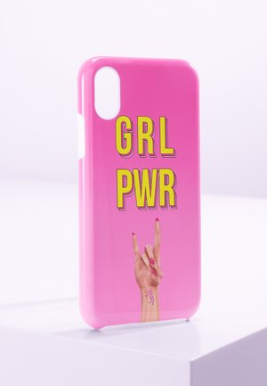 iPhone X/XS - Portacellulare - pink/yellow