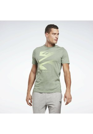 VECTOR GRAPHIC SERIES ELEMENTS - T-shirt imprimé - green