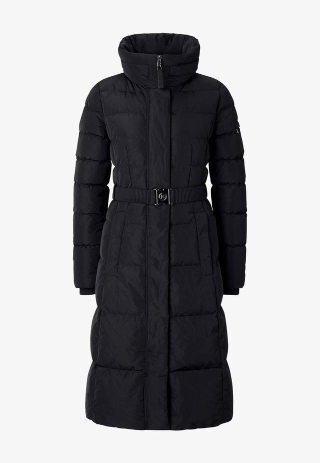 CAROLA - Down coat - schwarz