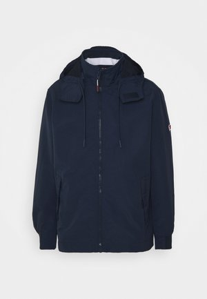 ESSENTIAL HOODED JACKET - Veste légère - blue