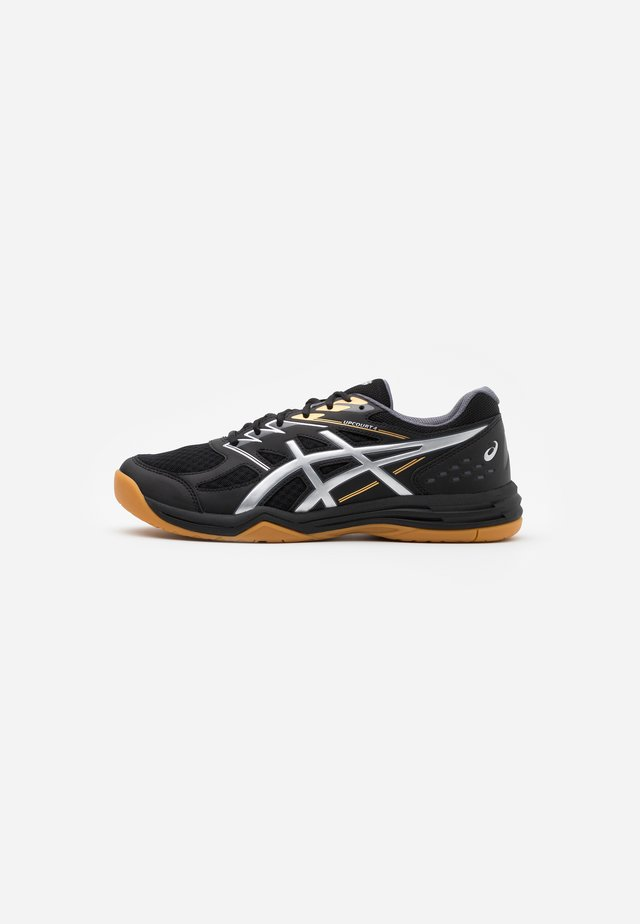 UPCOURT 4 - Handball shoes - black/pure silver