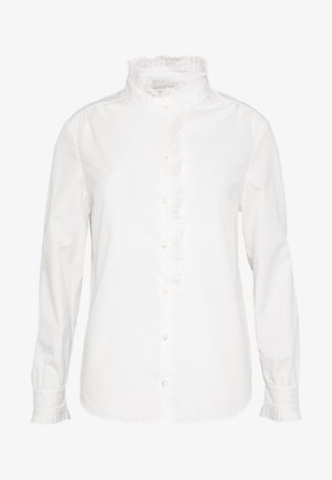 EASY PLEATED - Blouse - blanc