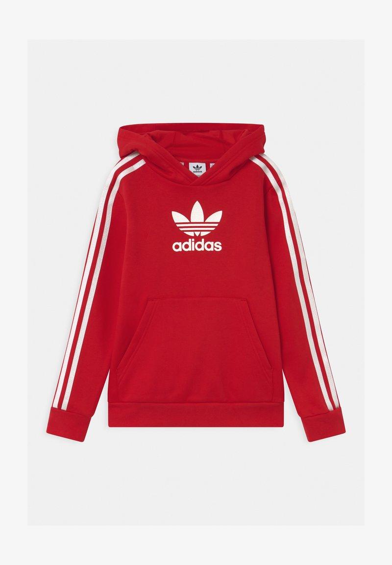 adidas Originals - HOODIE UNISEX - Sweatshirt - scarle/white