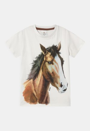 THEA  - T-shirt con stampa - cloud dancer