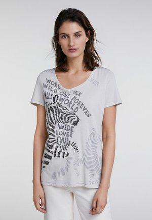 Print T-shirt - moonbeam