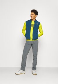 The North Face - DREW PEAK CREW LIGHT - Sweatshirt - citronellegreen - 1