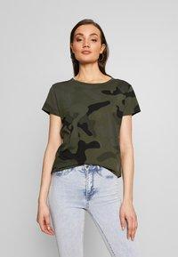 G-Star - ALLOVER TOP - T-shirt print - green - 0