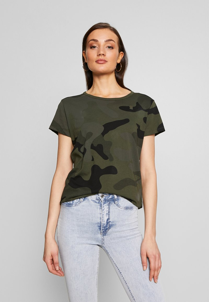 G-Star - ALLOVER TOP - T-shirt print - green