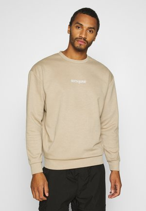 BASIC LOGO - Sweatshirt - beige