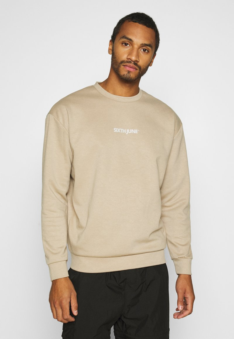 Sixth June - BASIC LOGO - Sweatshirt - beige