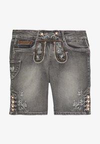 Marjo - FRANZISKA BERMUDA - Denim shorts - grey - 0