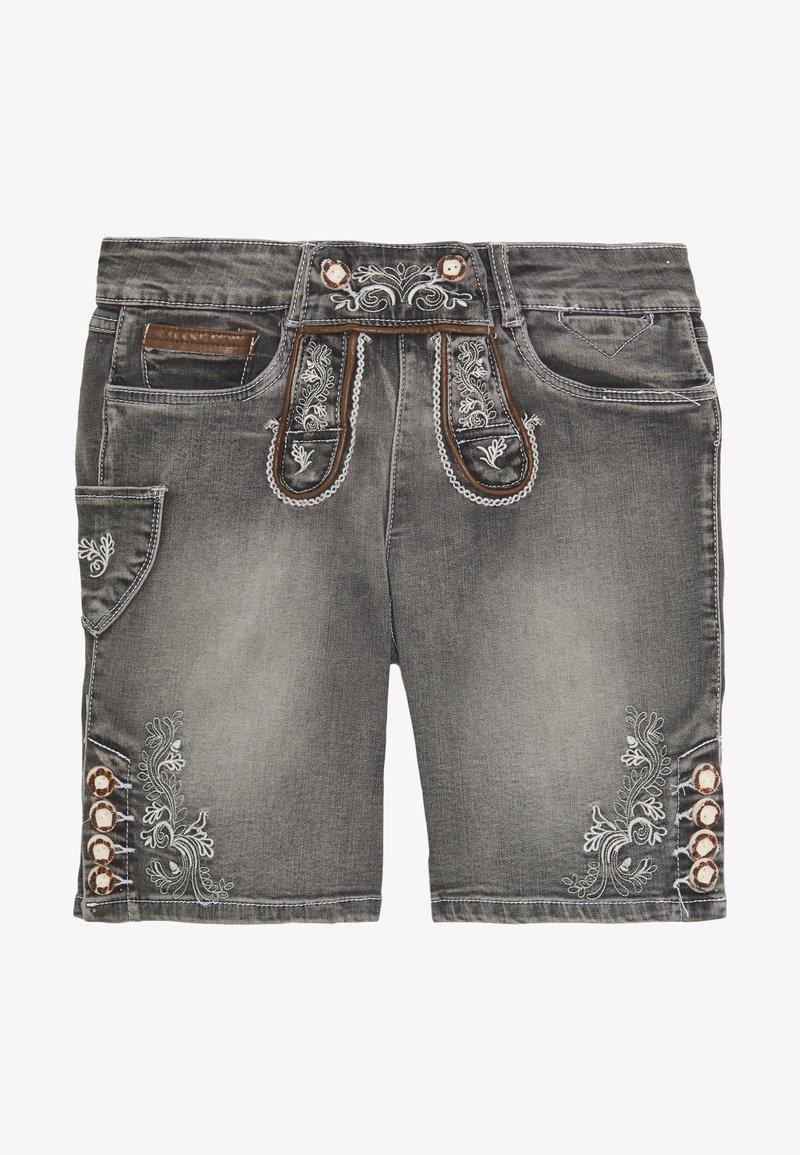Marjo - FRANZISKA BERMUDA - Denim shorts - grey