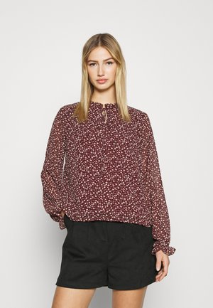 VMLIN V NECK - Blouse - port royale