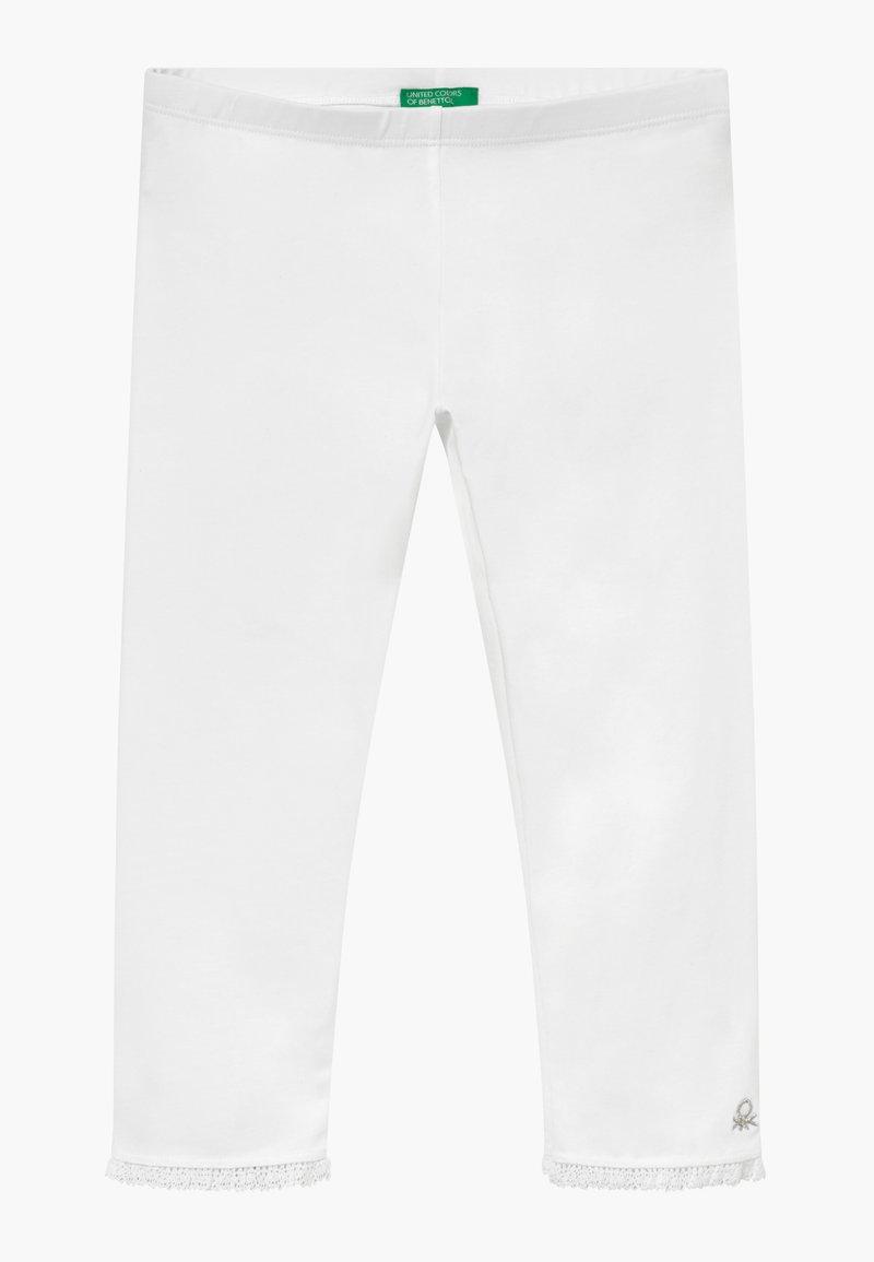 Benetton - Leggings - white