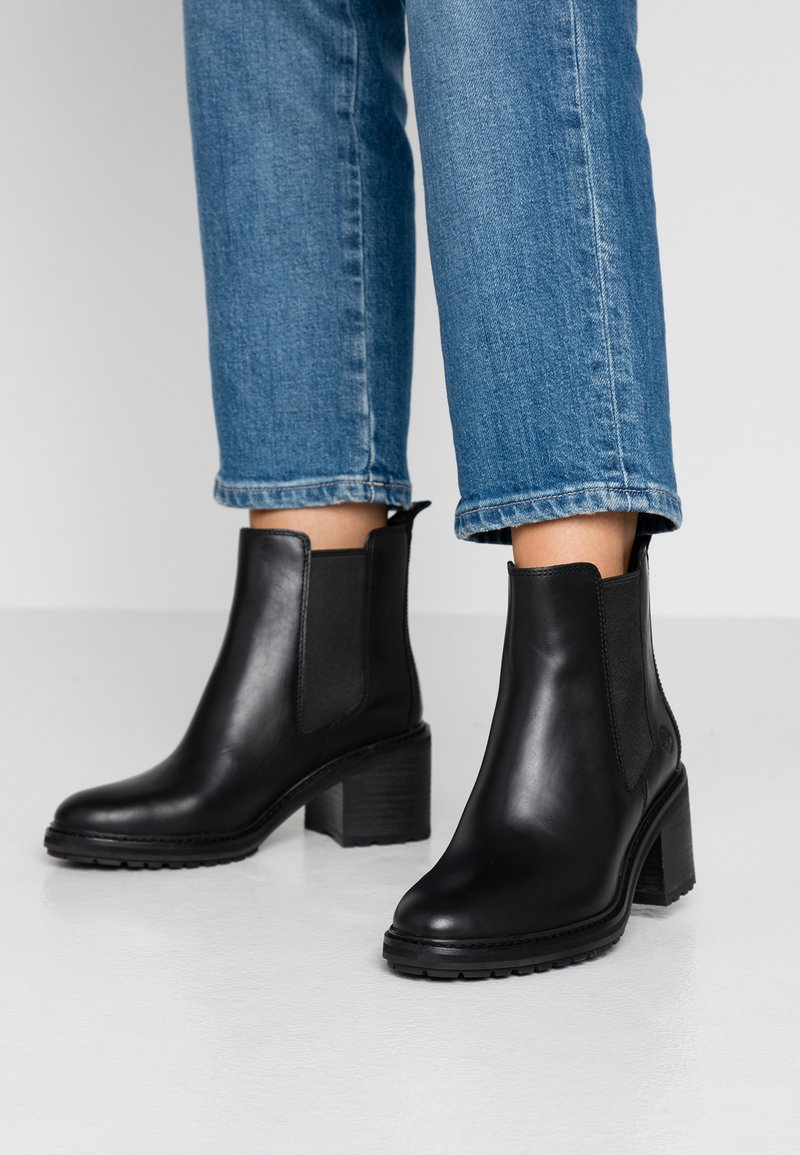Timberland - SIENNA HIGH CHELSEA - Classic ankle boots - black