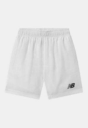 UNISEX - Sports shorts - white