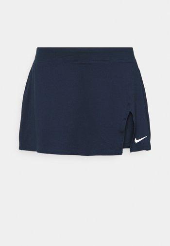 PLUS - Sports skirt - obsidian/white