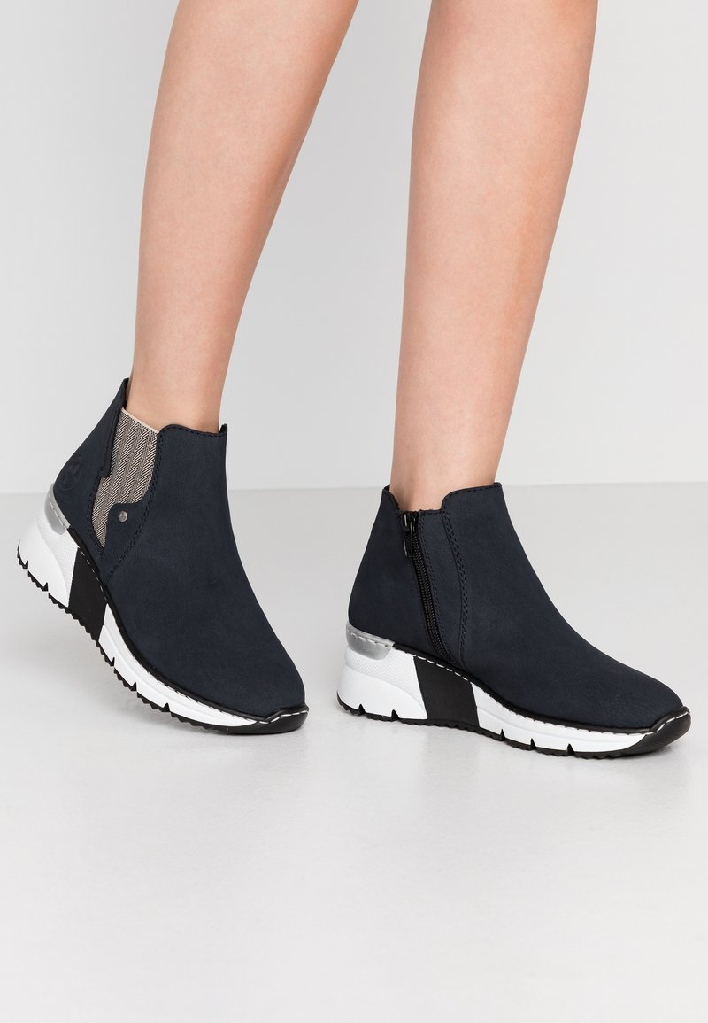 Rieker - Ankle boots - pazifik