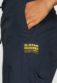 G-Star - UTILITY HIGH LOOSE CROP - Cargobukse - mazarine blue - 4