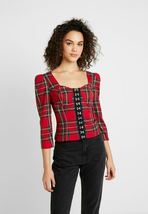 CORSET - Blouse - red