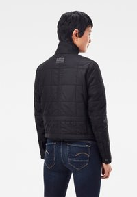 G-Star - QUILTED OVERSHIRT - Jas - black - 1