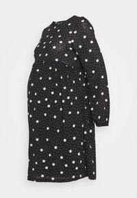 New Look Maternity - TIERED SMOCK DRESS - Sukienka z dżerseju - black - 0