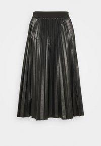 MAX&Co. - FLAVIANA - Pleated skirt - black - 1