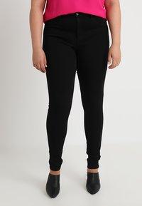 ONLY Carmakoma - CARSTORM - Jeans Skinny Fit - black - 0