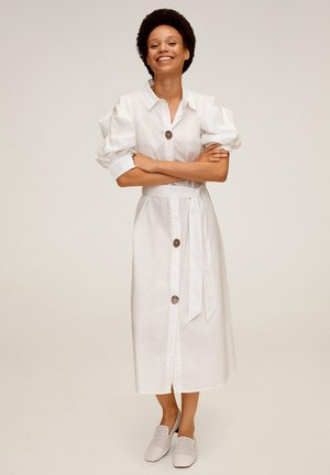 TOMMY-A - Shirt dress - weiß
