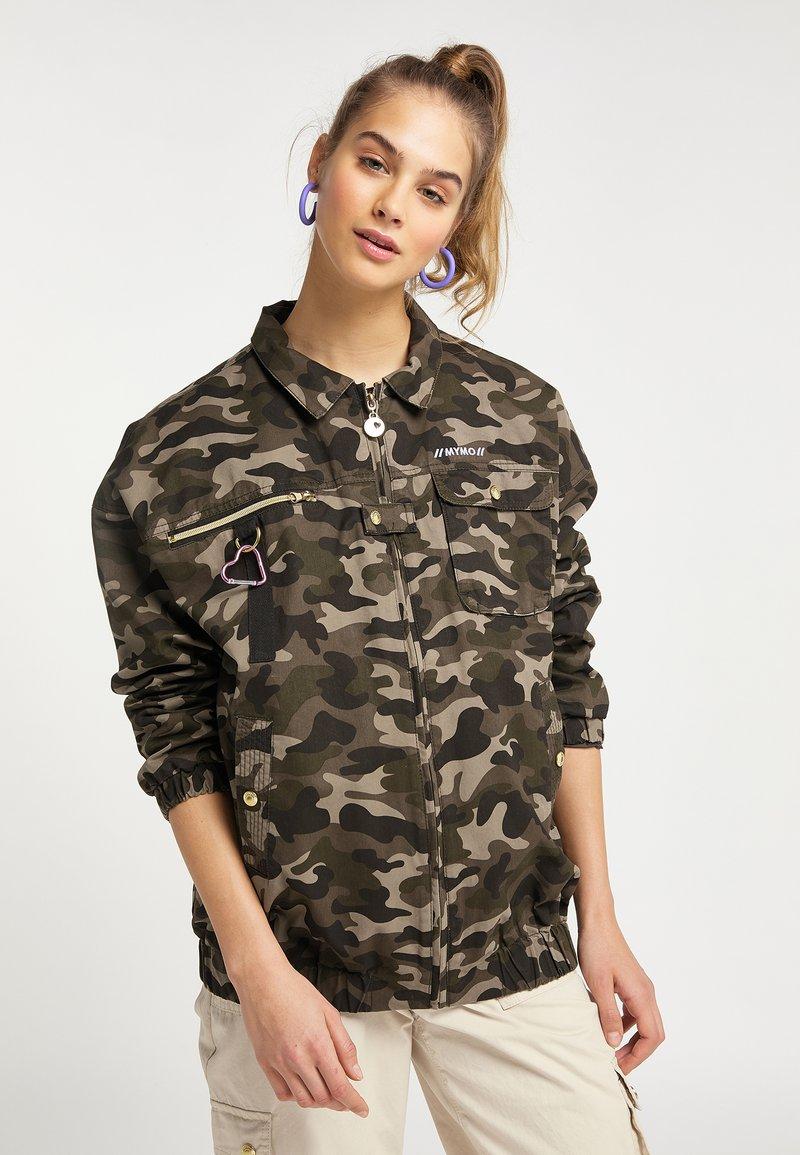 myMo - Summer jacket - olive