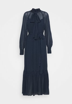 PERFECTION DOTS DRESS - Maxi šaty - dark blue