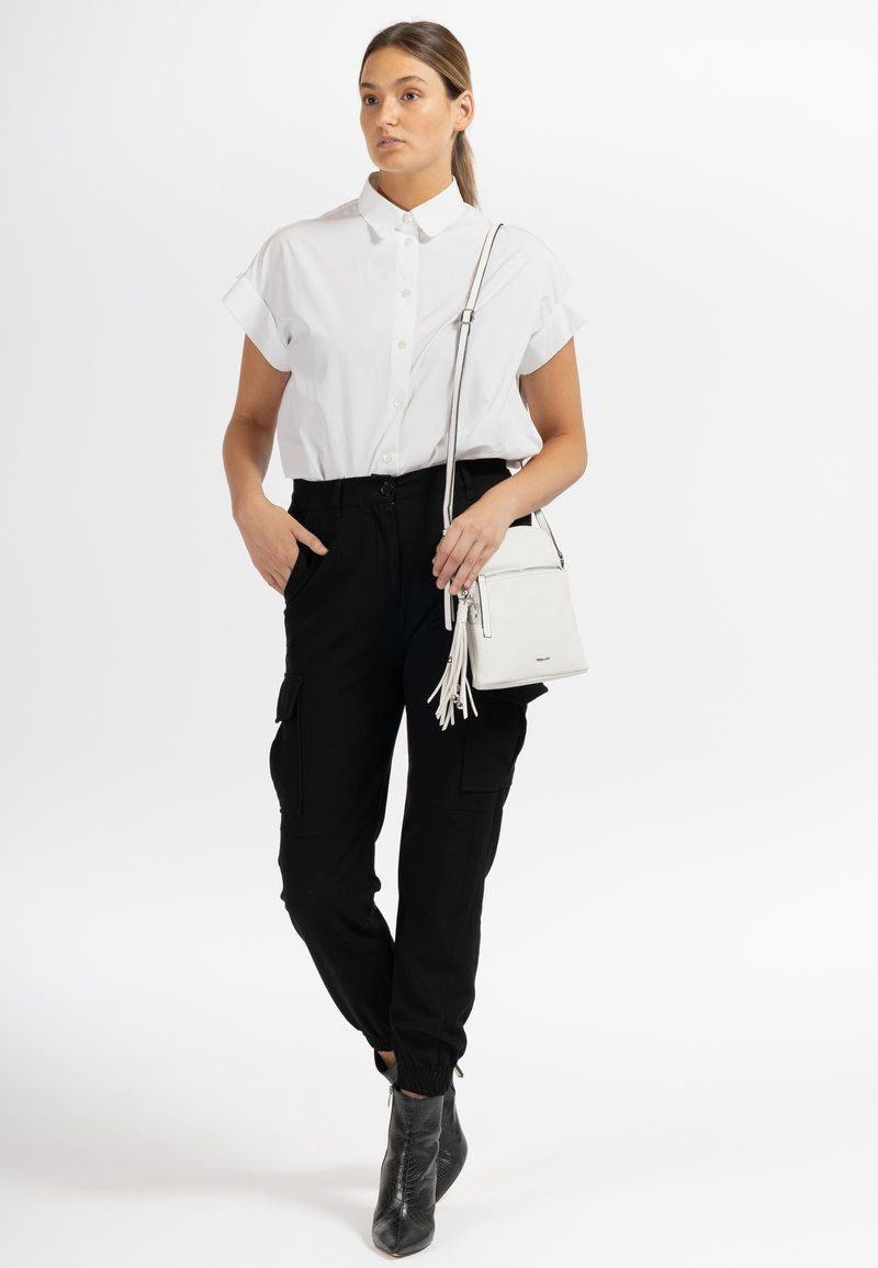 Tamaris - ADELE - Across body bag - white