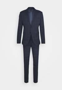 Selected Homme - MYLOLOGAN SUIT - Suit - navy blazer/brown - 8