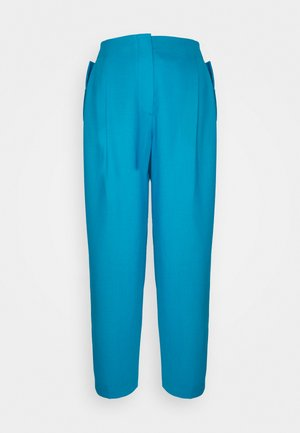 Trousers - turquoise