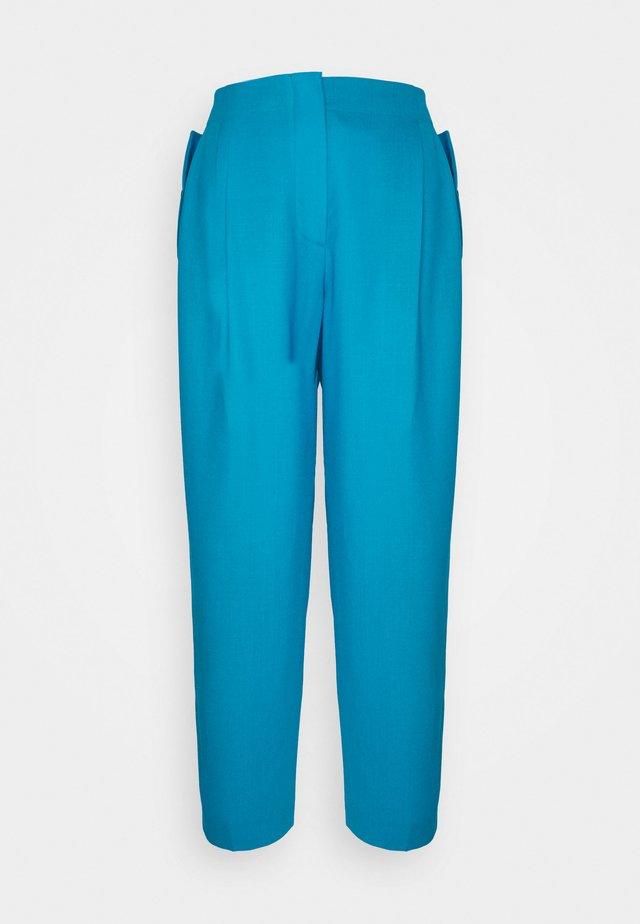 Kalhoty - turquoise