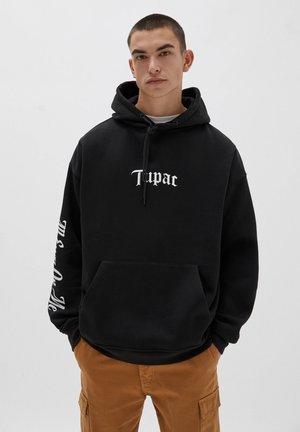 TUPAC - Hoodie - black