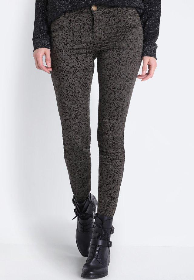 Jeans Skinny Fit - green/khaki