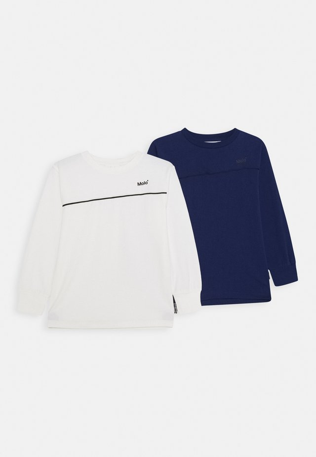 RASMONO 2 PACK - Maglietta a manica lunga - white star