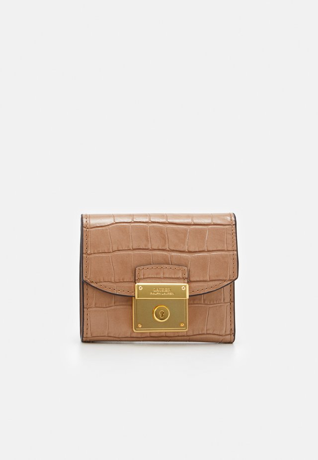 LOCK COMPACT WALLET MEDIUM - Wallet - nude