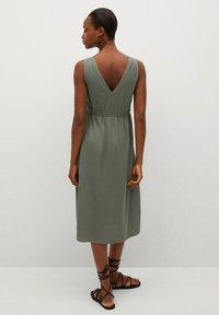 Mango - DOMENICO - Sukienka z dżerseju - kaki - 2